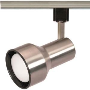 Lite Line 1 Light R20 Brushed Nickel Step Cylinder Track Lighting Head Hd Th303 The Home Depot
