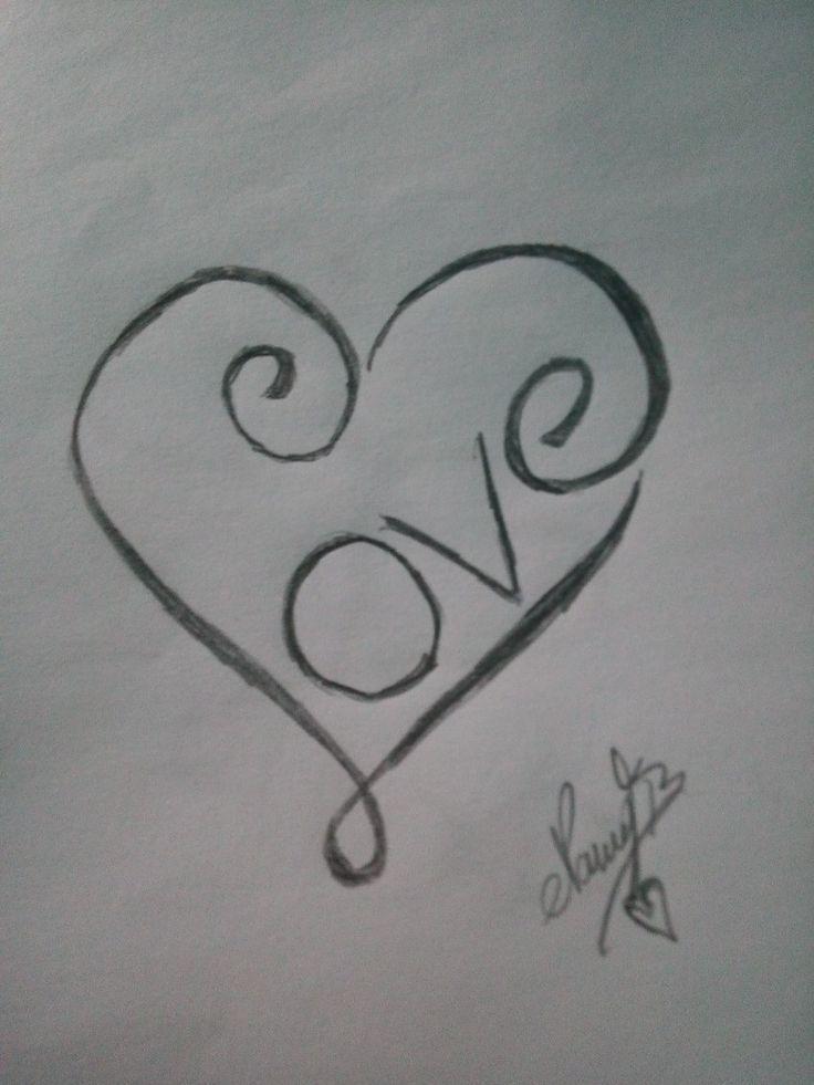 Love Sharpiedrawingseasy Sharpie Drawings Cool Art Drawings Sketchbook Drawings