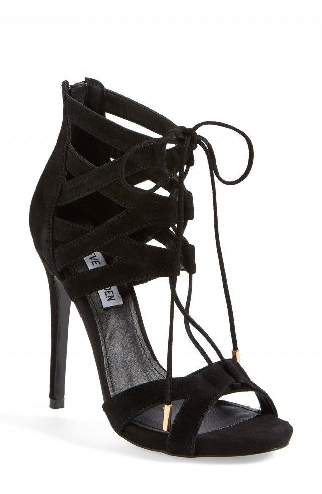 #TuesdayShoesday: 9 Majorly Marked-Down Strappy Heels via @WhoWhatWear