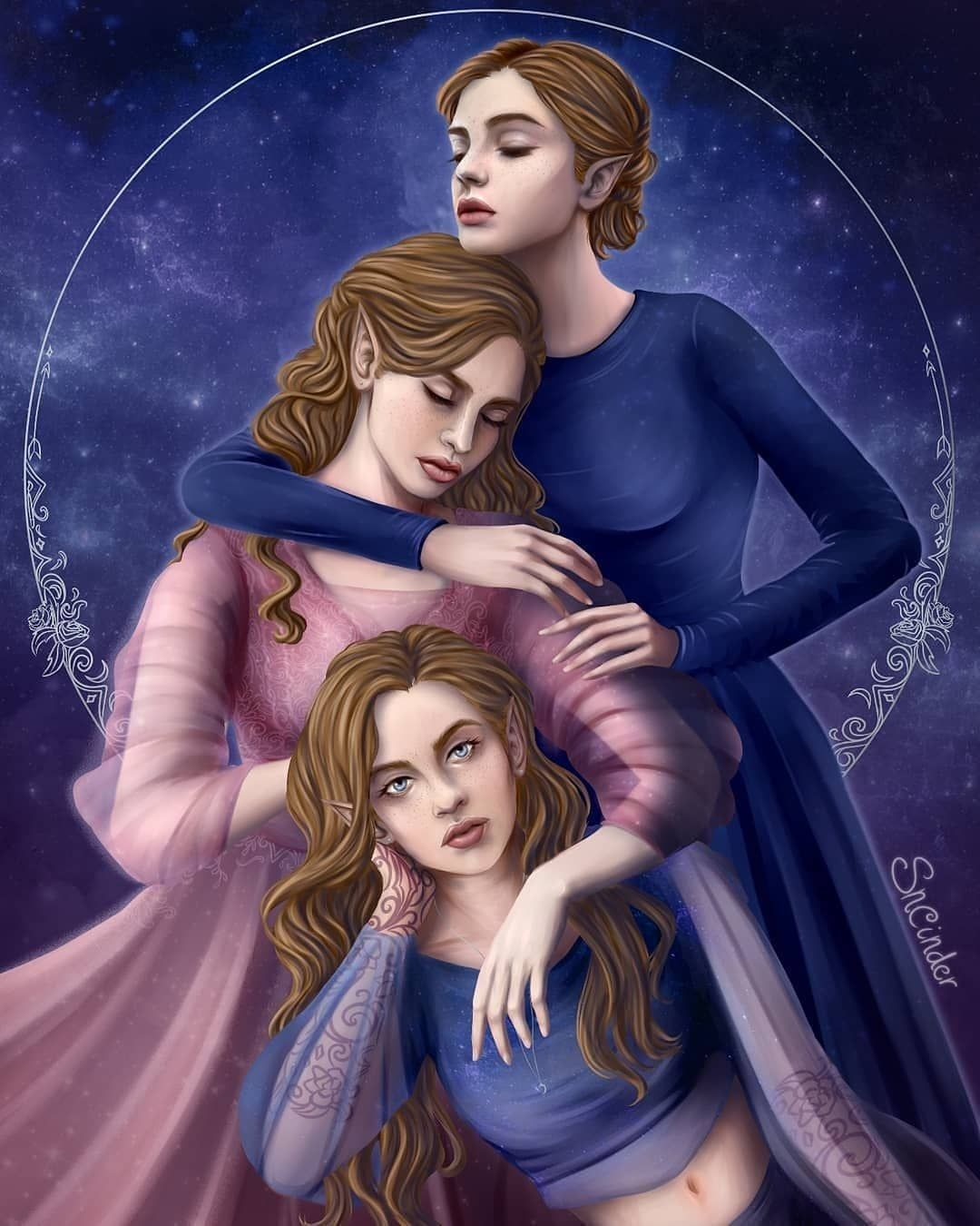 Oh Jesus This Is Stunning By Sncinderart Acotar Acomaf Acowar