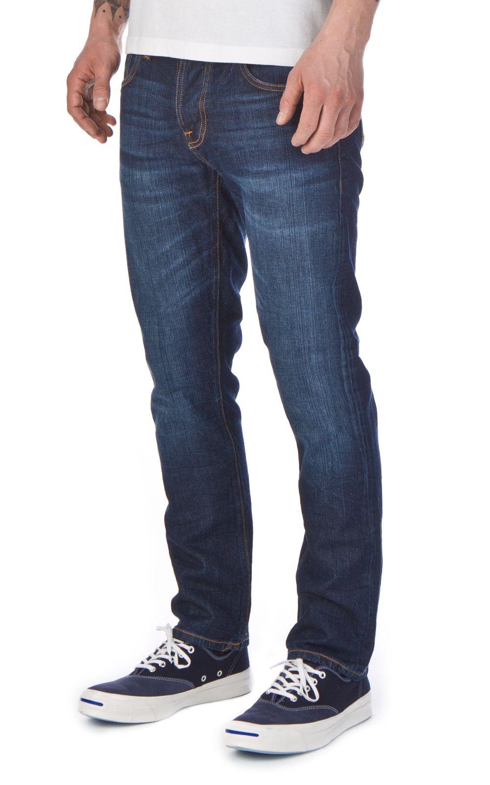 Nudie jeans · Nudie Jeans Grim Tim Blue Swede