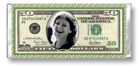 Celebrating 50 With A Wrapped Hershey Bar That Looks Like A 50 Dollar Bill Contact Www Wraptheoccasion Com To Customize Hershey Bar Scrapbook Pages Clip Art