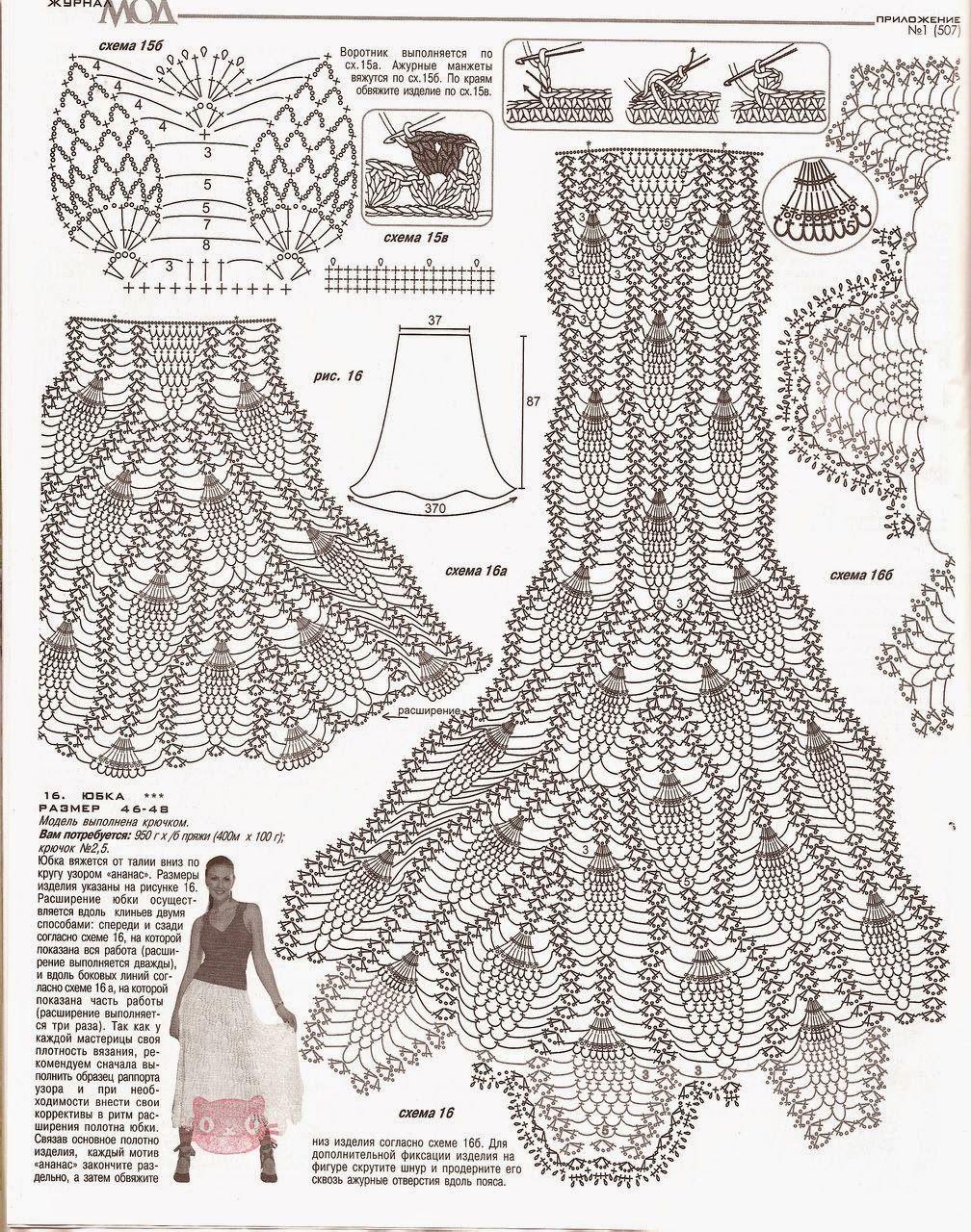 Pin de Dora Sanchez en crochet | Pinterest | Falda, Tejido y Boleros