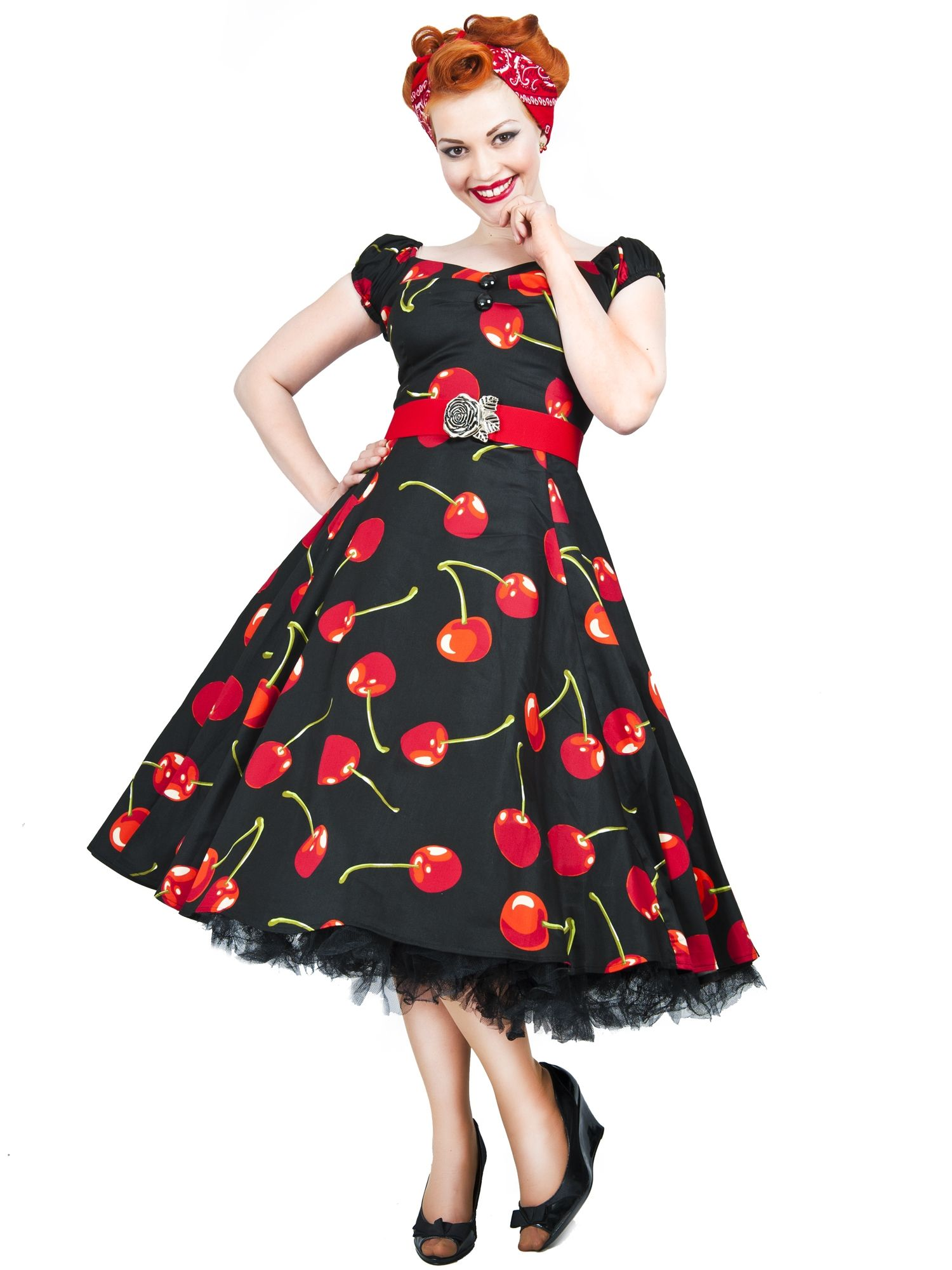 Dolores doll dress cherry stem style wish list pinterest
