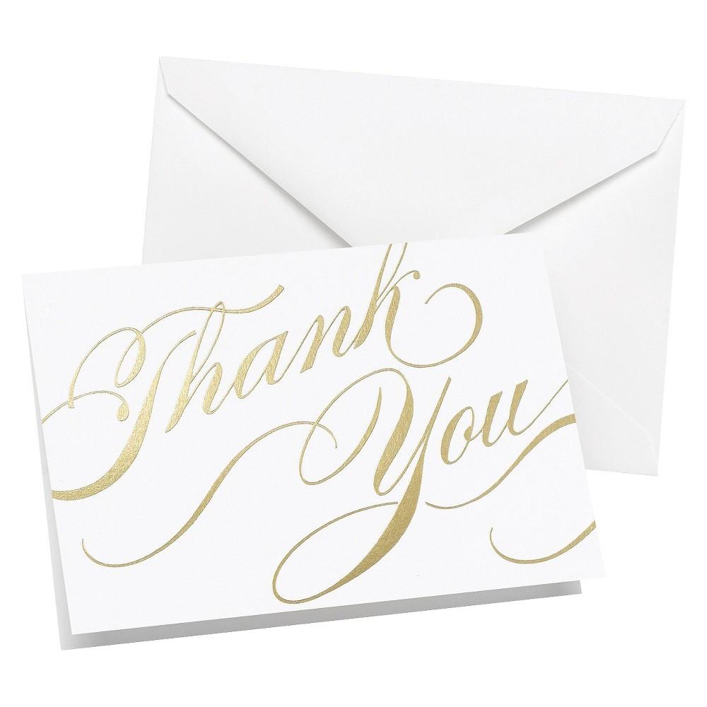 Unending Gratitude Wedding Thank You Cards (50 count) -