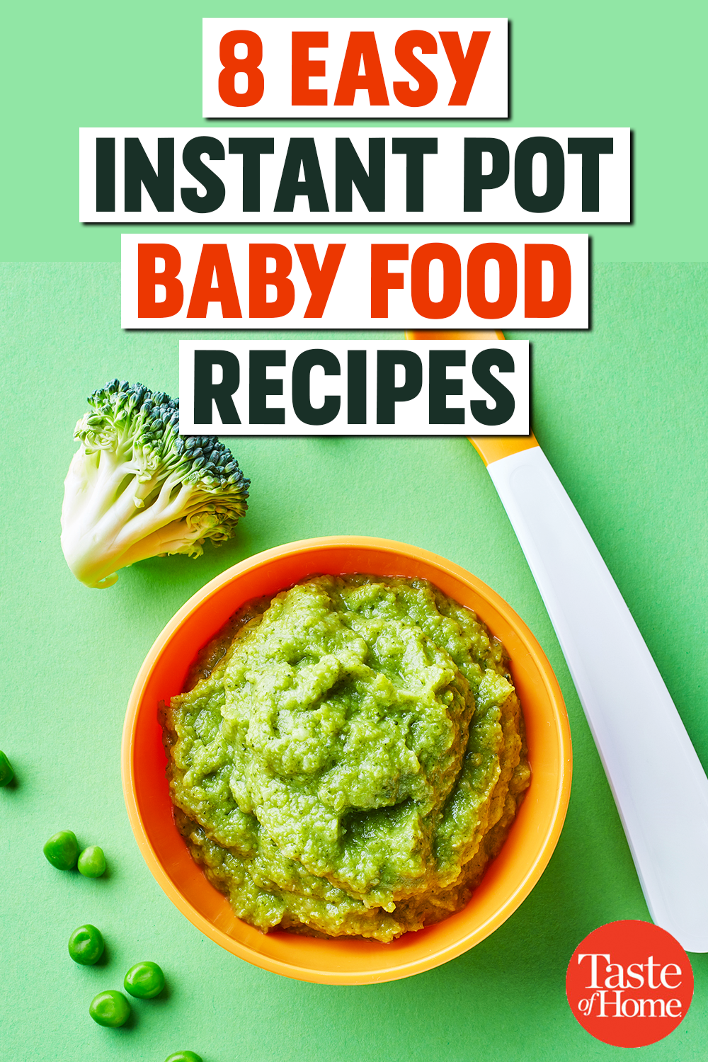 8 Easy Instant Pot Baby Food Recipes