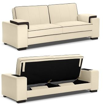 This Futon Is A Beautiful Sofa Comfortable Bed And It Has Storage E Talk About An All In One White Not What I Need For My Remodel