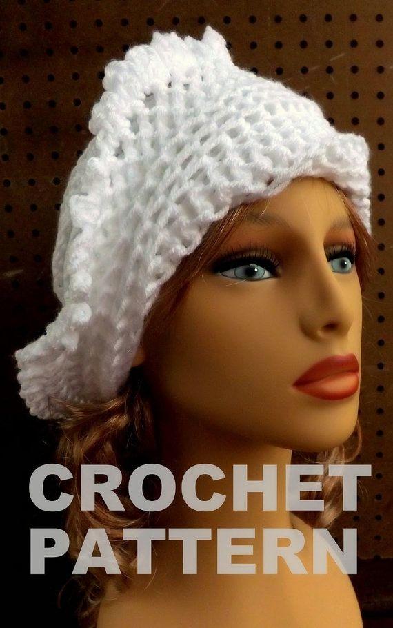 Beanie Hat Pattern Crochet Pattern Hat Womens Crochet Hat Pattern