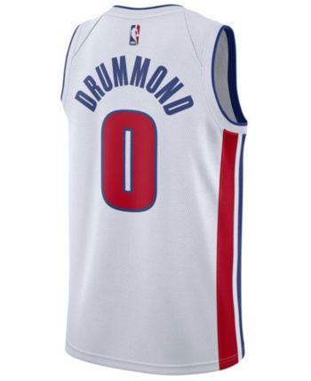 b5d6e8e73 Nike Men s Andre Drummond Detroit Pistons Association Swingman Jersey -  White XXL