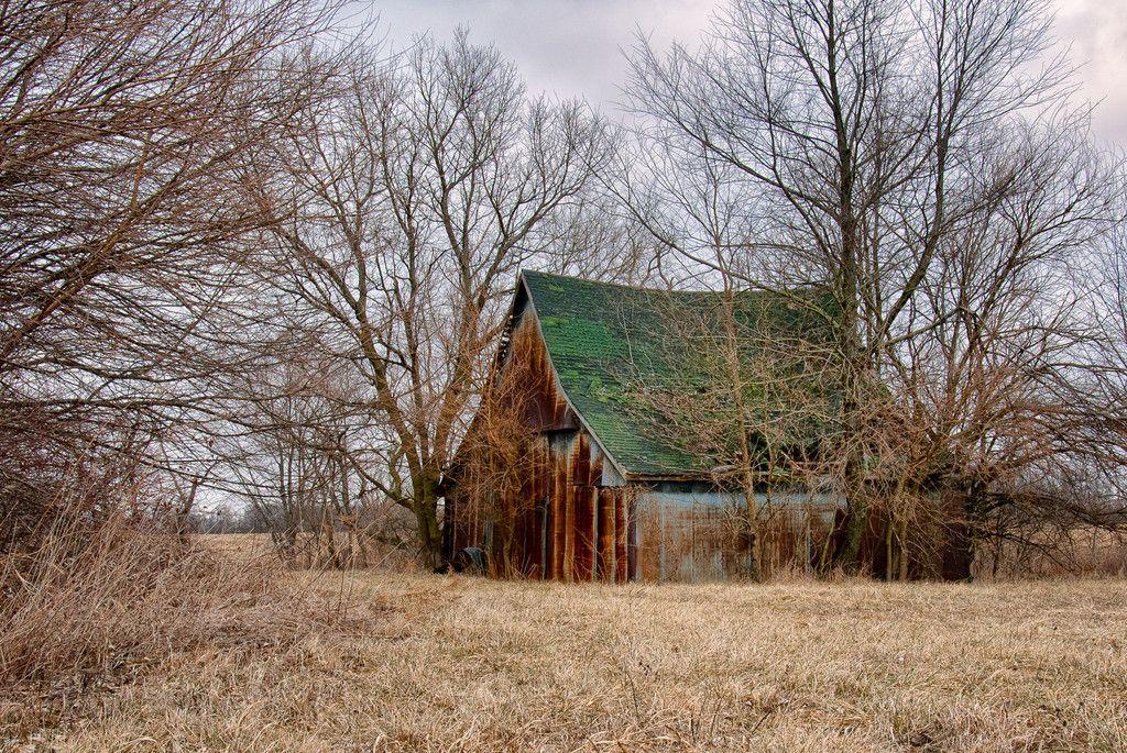 Metal Barn Shelby County, Indiana Old barns, Metal barn