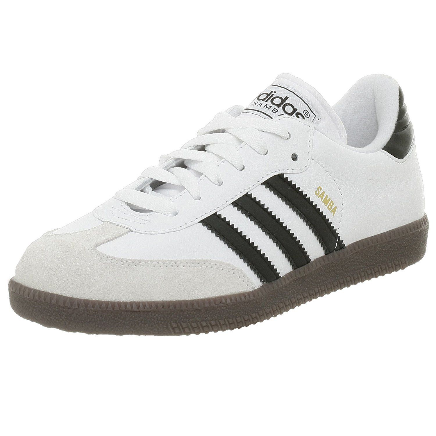 adidas Samba Classic Leather Soccer Shoe (Toddler/Little Kid/Big Kid)