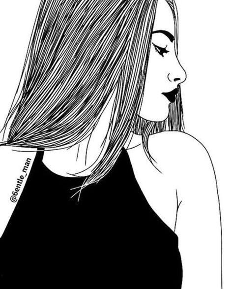 Dessin Fille Tumblr Girl Bffe Pinterest Girls