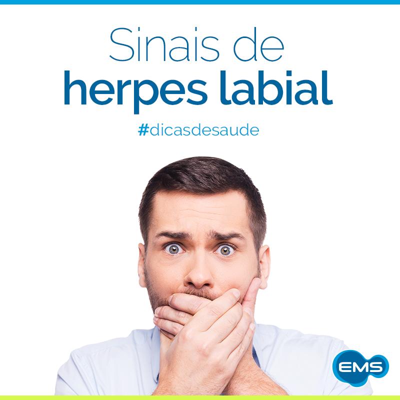 A herpes labial é muito comum e pode facilmente ser tratada. Saiba um pouco mais sobre o assunto aqui: http://bit.ly/1opNHxb. #dicasdesaúde
