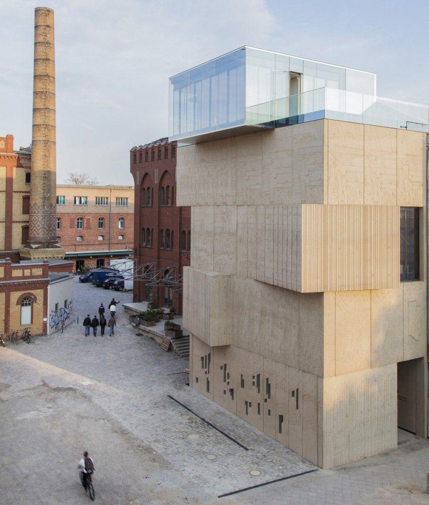 Berlino nuovo museo per il disegno architettonico architettura musei - Architekturvisualisierung berlin ...