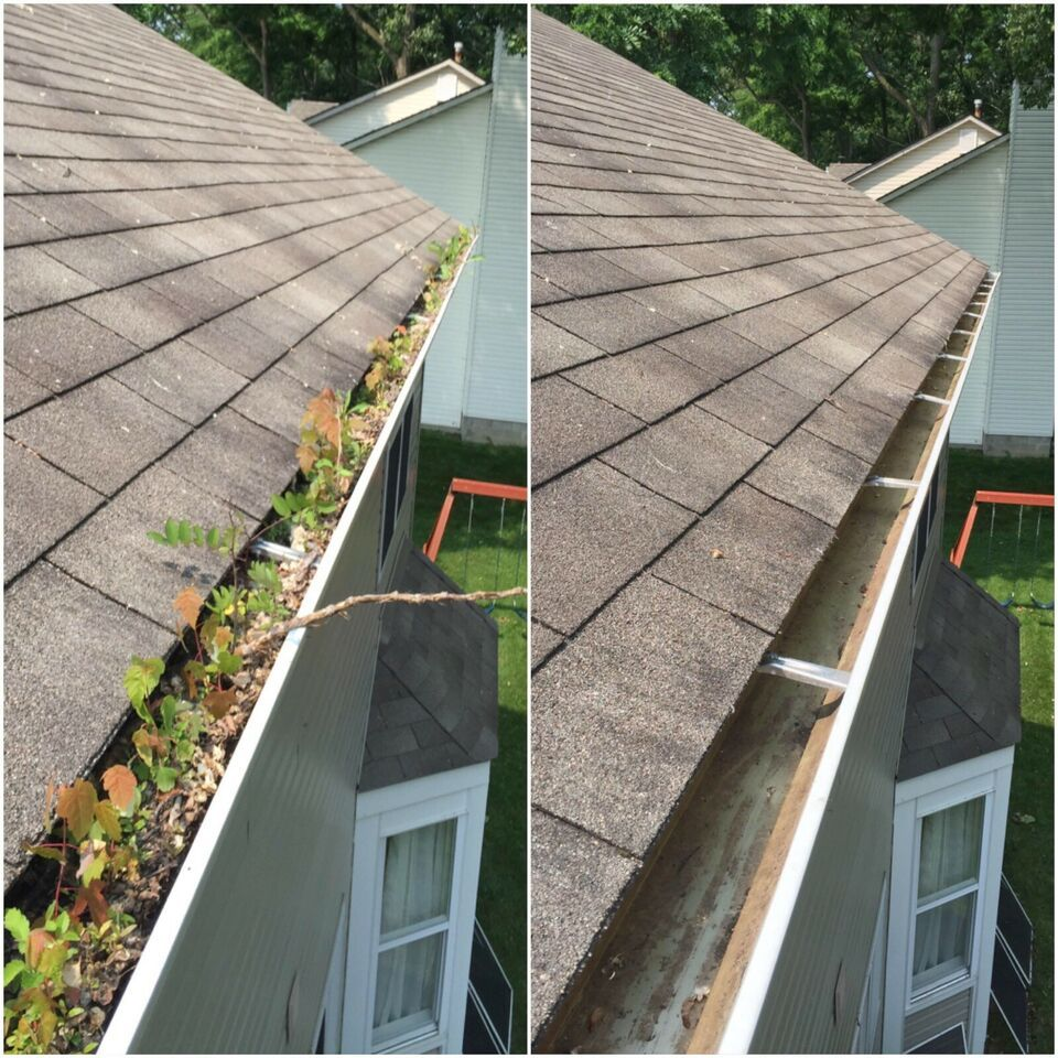 Gutter cleaning *Weekend Special* Small repairs done also