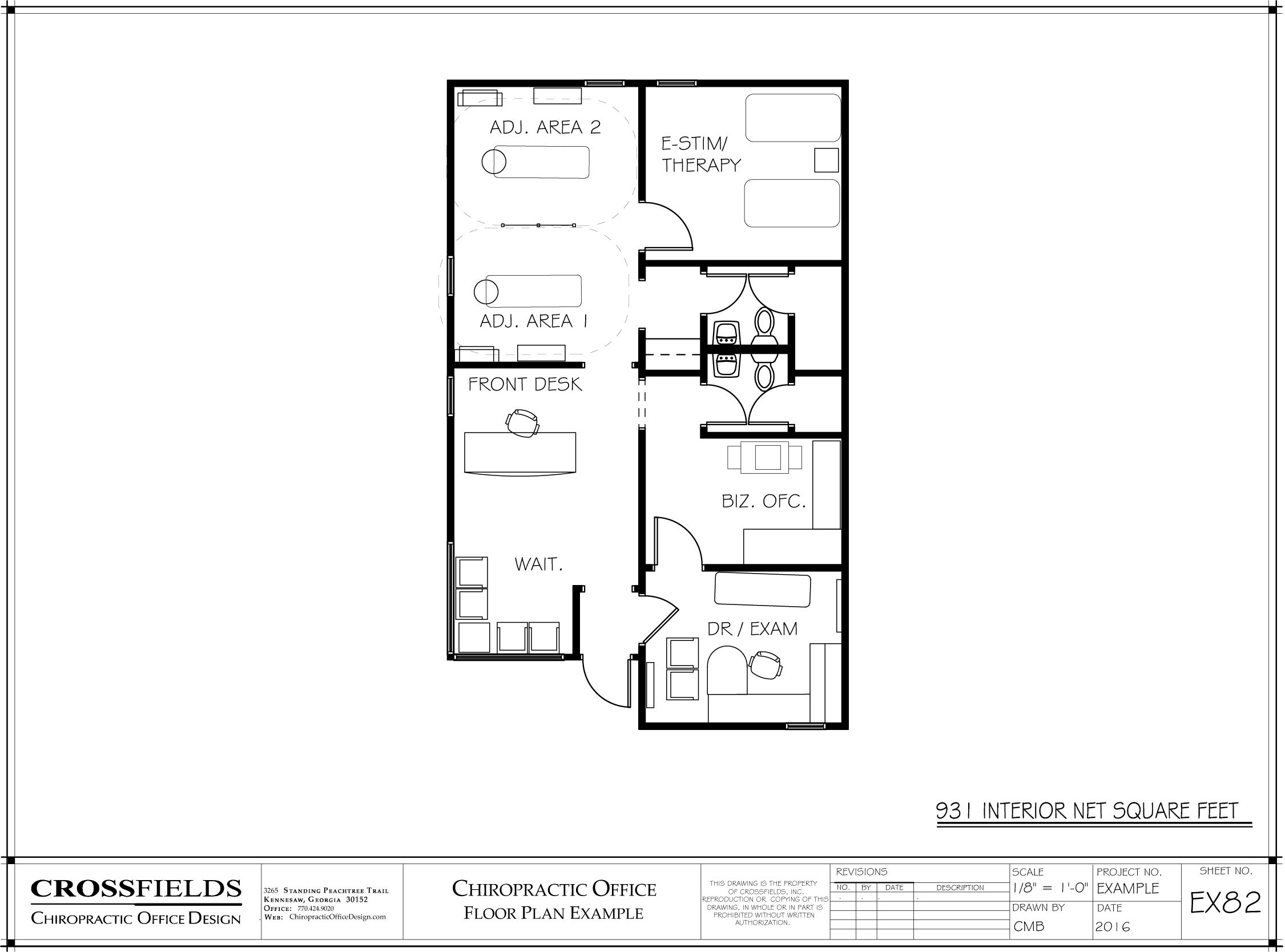 Chiropractic Office Floor Plans In