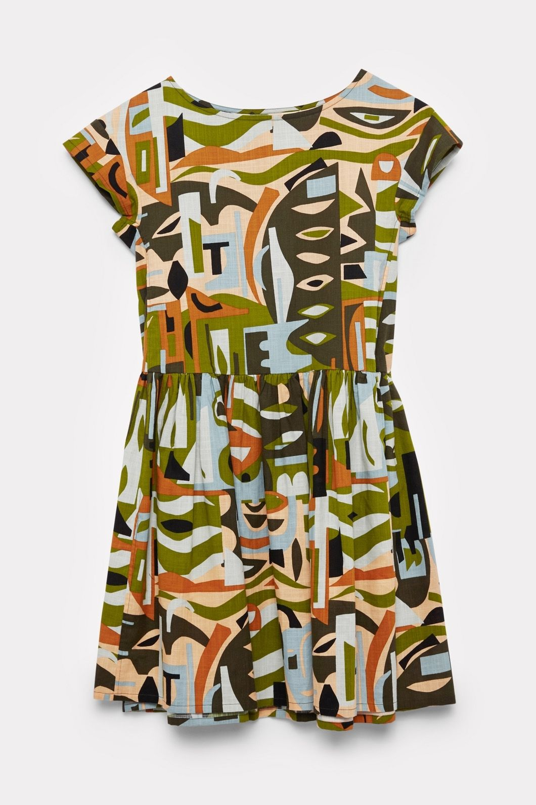 b1c48942a9 Gorman Online    Camo Beach Dress - Claire Johnson + Gorman