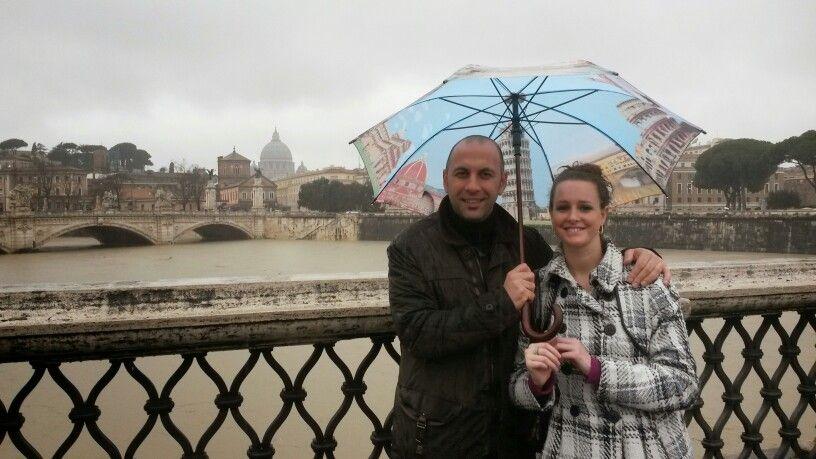 Rainy day in Roma. .