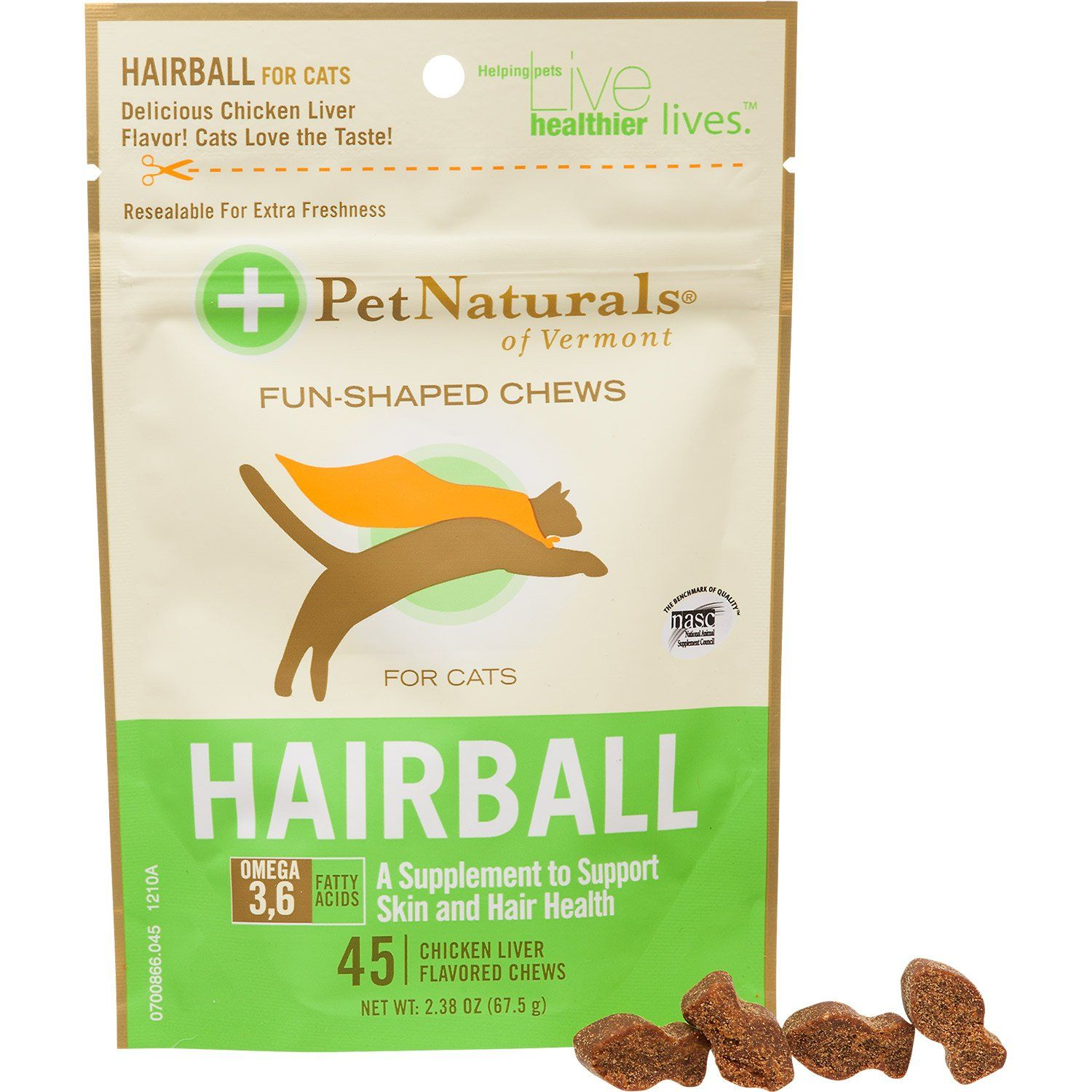 Pet+Naturals+Hairball+Relief+Cat+Soft+Chews++2.38+oz