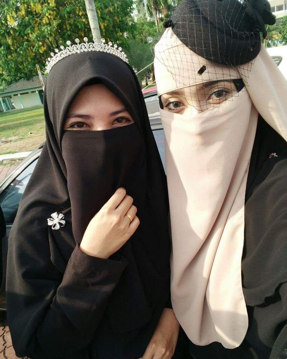 Niqabis | Niqab, Beautiful hijab, Hijab