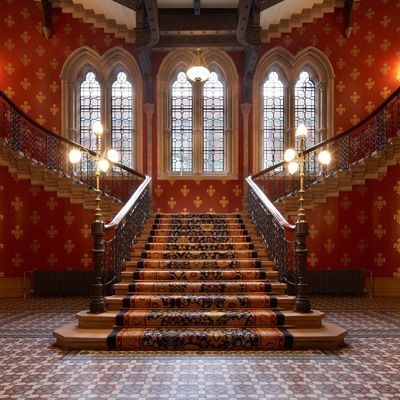 Staircase In The Midland Grand Hotel St Pancras Hotel
