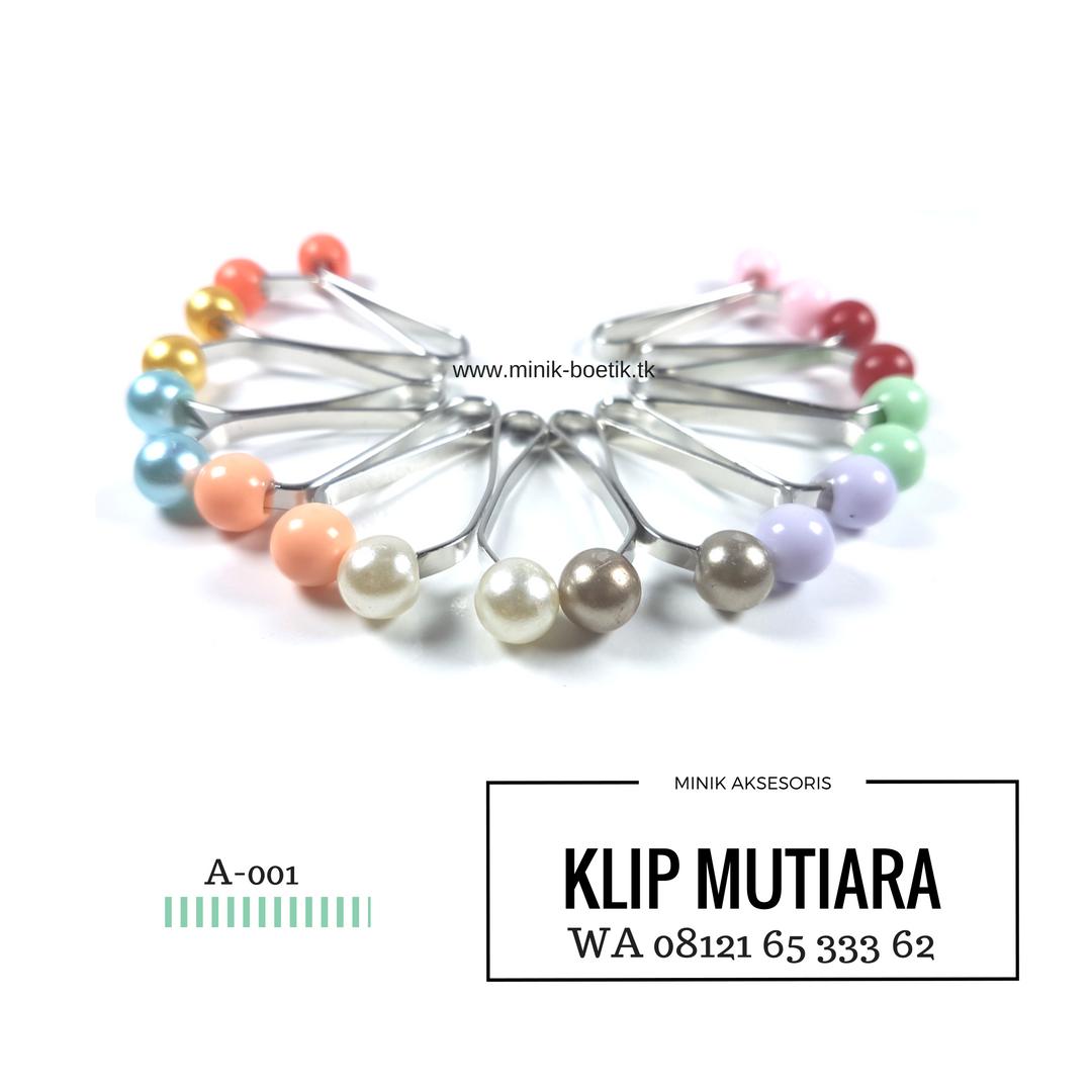 Wa 08121 65 333 62 Grosir Klip Hijab Mutiara Minik Aksesoris Turki Boetik Lumajang