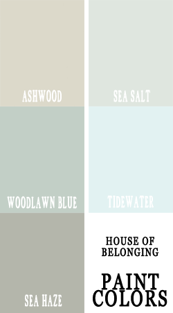 I Think These Are Sherwin Williams And I Like A Lot Of