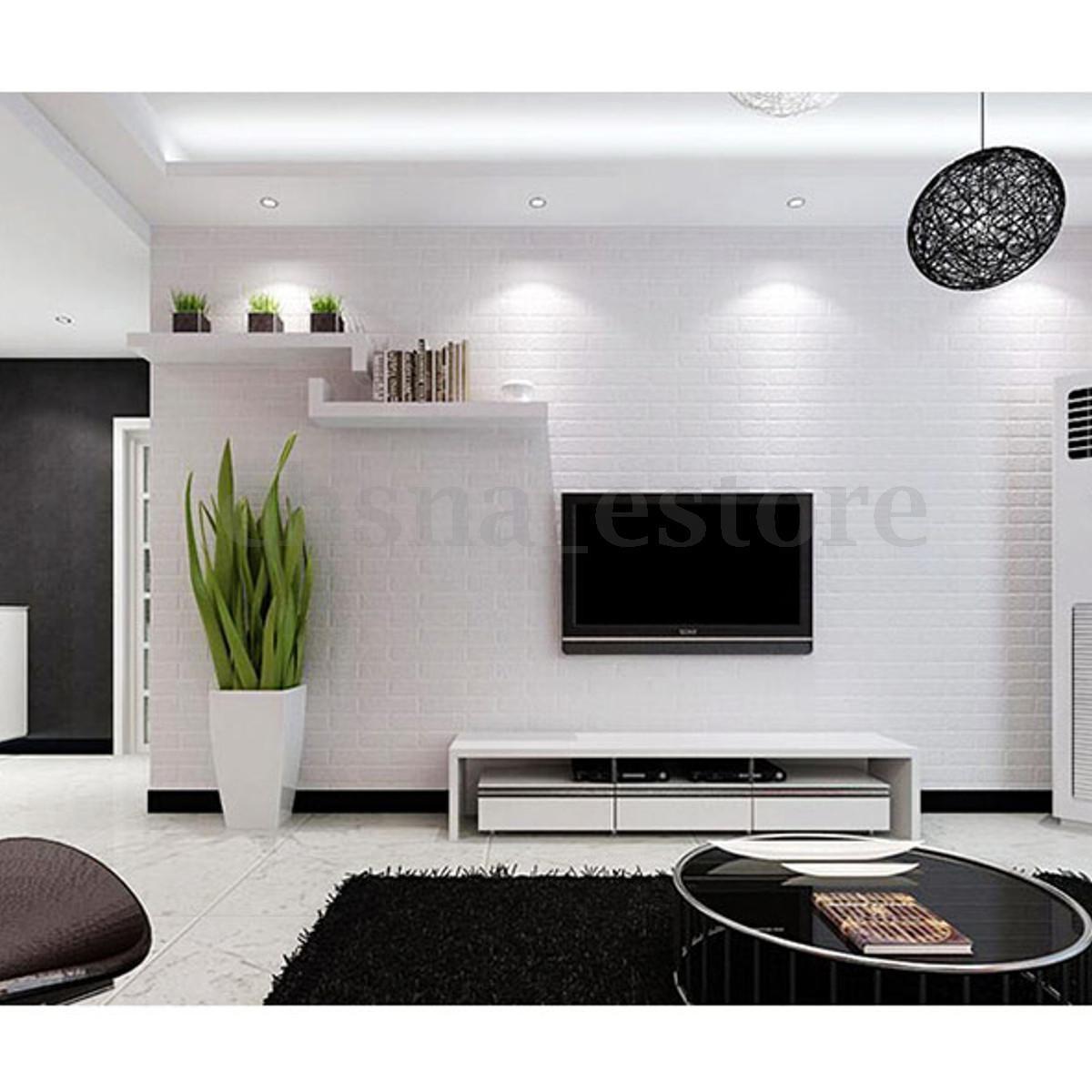 41++ Decoracion de paredes de salon con papel trends