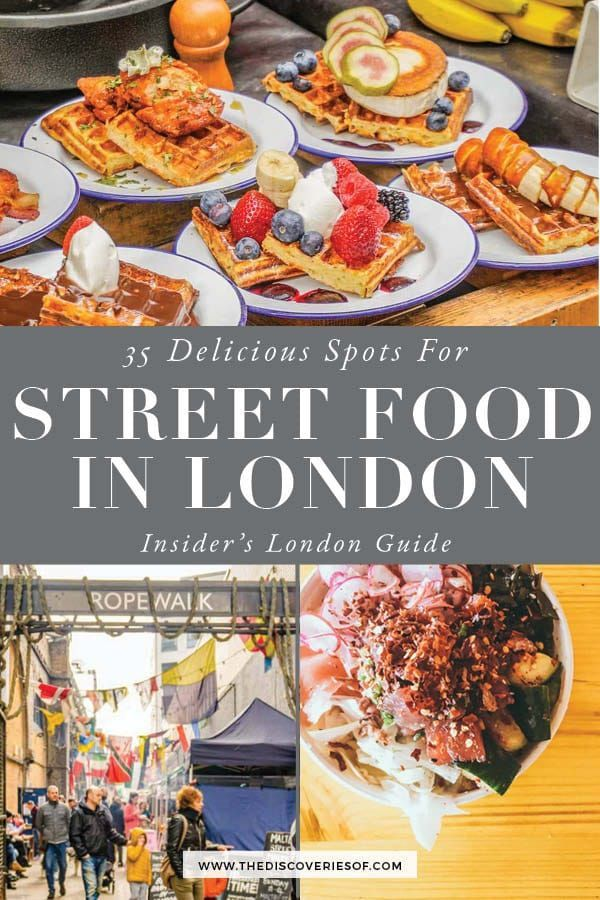 Photo of 35 Brilliant Street Food Markets in London You Shouldn't Miss