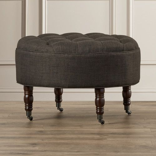 Found It At Wayfair - Beachem Round Tufted Ottoman