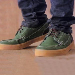 Seaptu Canvas Instinct Green Shoes Sneakers Vans