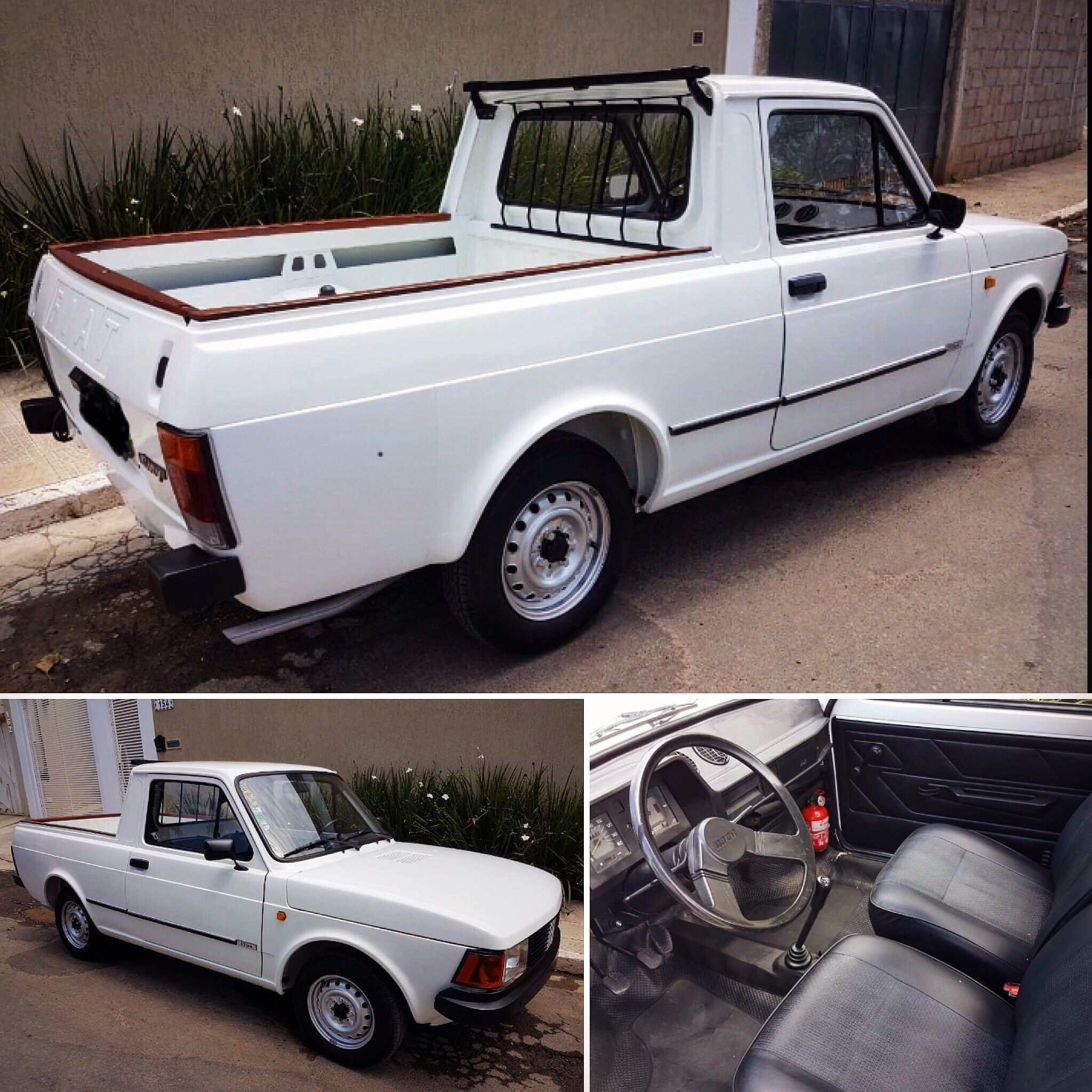 Fiat 147 Pick Up City 1 300 1986 Fiat 147 Pick Up Carros