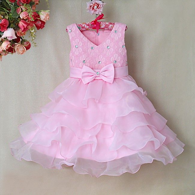 Toddler Girls Ruffle Easter Dress