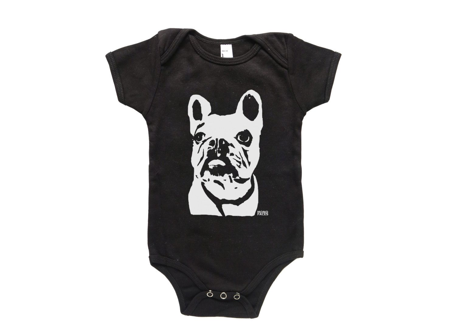 French Bulldog Baby Clothes One Piece Frenchie Shirt Gift Dog Themed Birthday Party Shower By