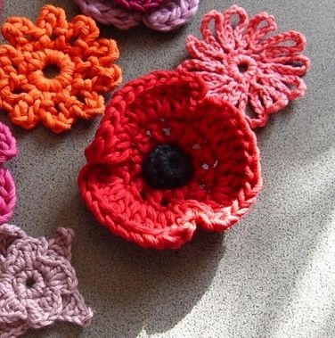 Redpoppy by The Erssie Knits Collection, via Flickr