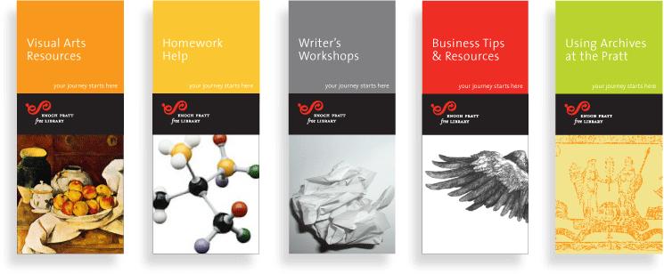 Beautiful brochures from Enoch Pratt Free Library | Design ...