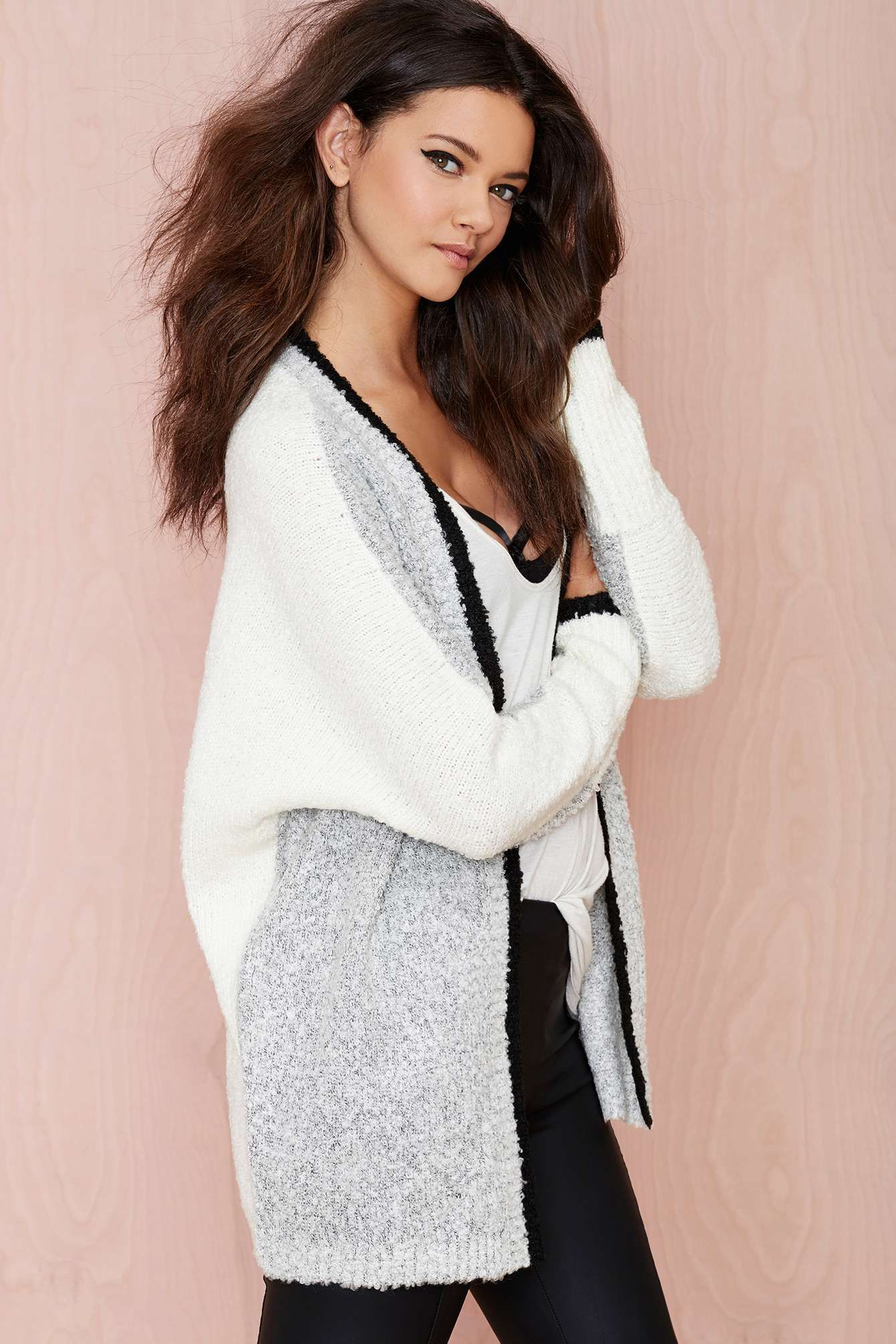 oversized cardigan | To knit or to crochet? | Pinterest | Ropa ...