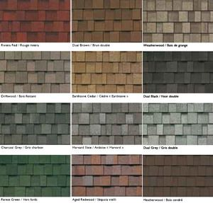 Best Different Types Of Roof Shingles Roof Shingle Colors 400 x 300