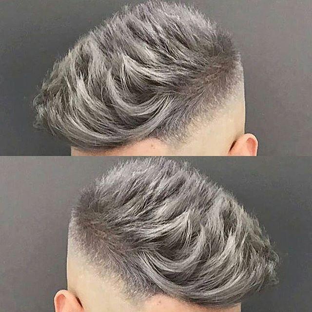 Josethebarber10 Love That Silver Grey Colour