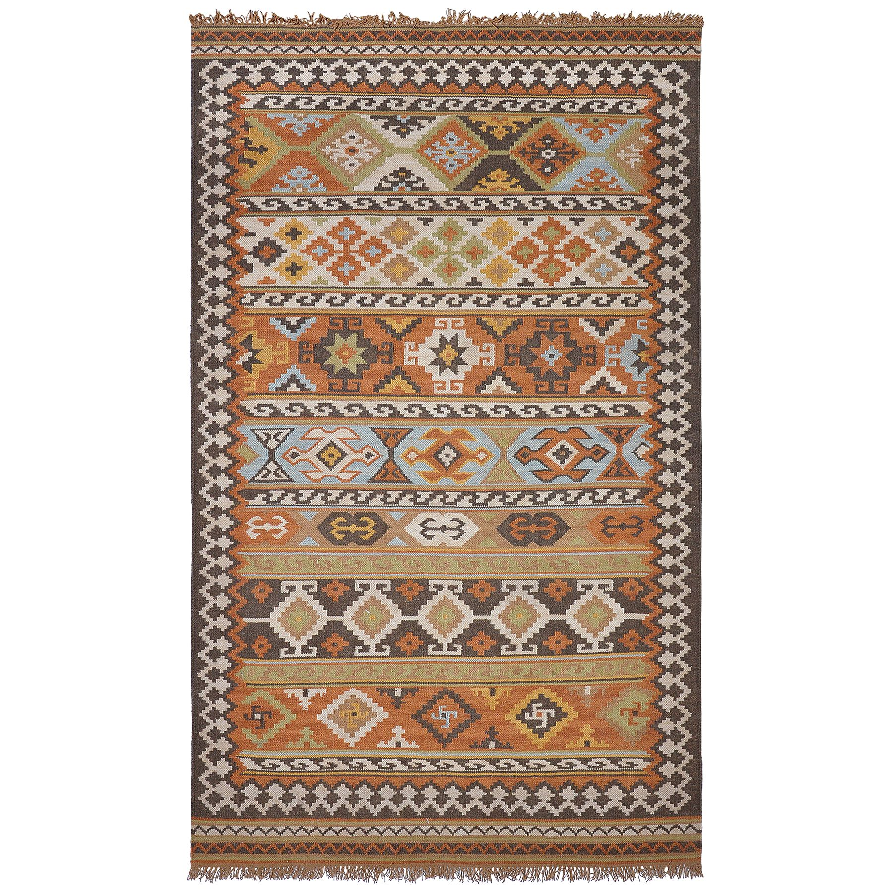 Elvy Indoor/ Outdoor Poly Kilim Rug   Overstock™ Shopping   Great Deals On  Kosas Collections Accent Rugs