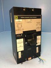 square d lal36300 300a circuit breaker w shunt \u0026 aux 600v lal s4 3