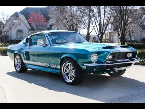 1968 Ford Mustang Fastback Shelby Gt500 Tribute For Sale 1968