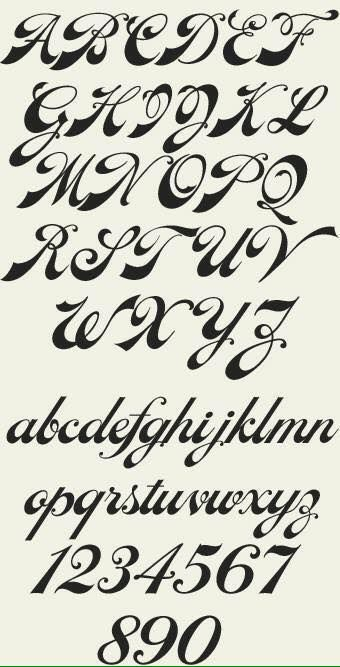 Various Alphabet Fonts Type Design Information Compiled And Maintained By Luc Devroye