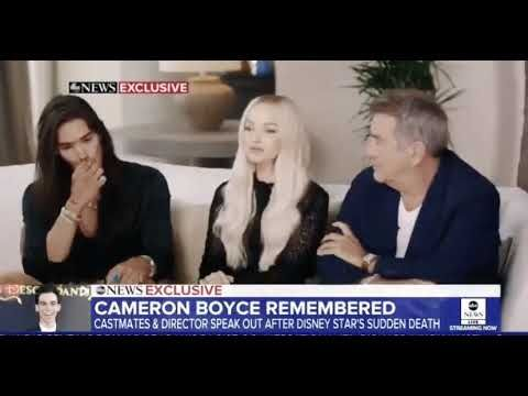 Descendants Cast talking about their beloved costar Cameron Boyce on Good Morning America