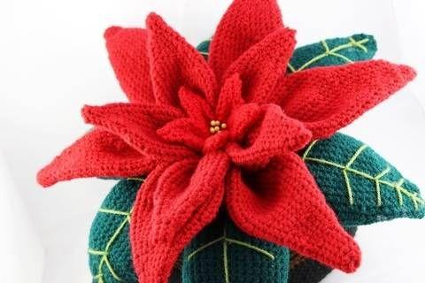 Dekorativer Weihnachtsstern - schnell,einfach Häkelanleitung bei ...