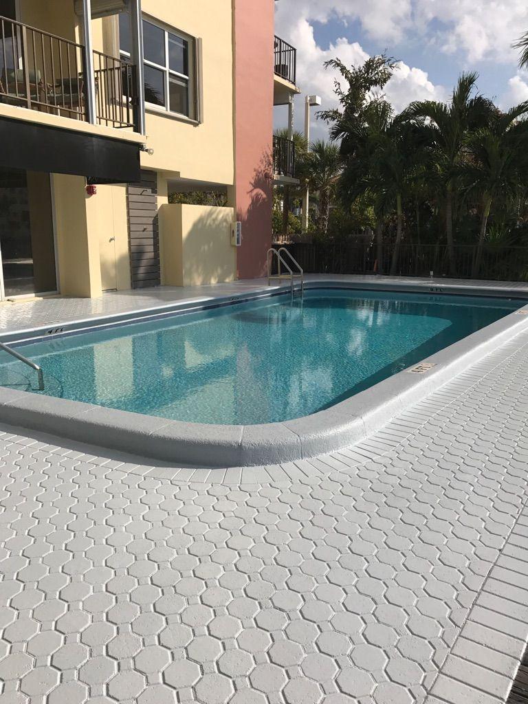 Epoxy Pool Deck Flooring Contractor Outdoor Deck Deck