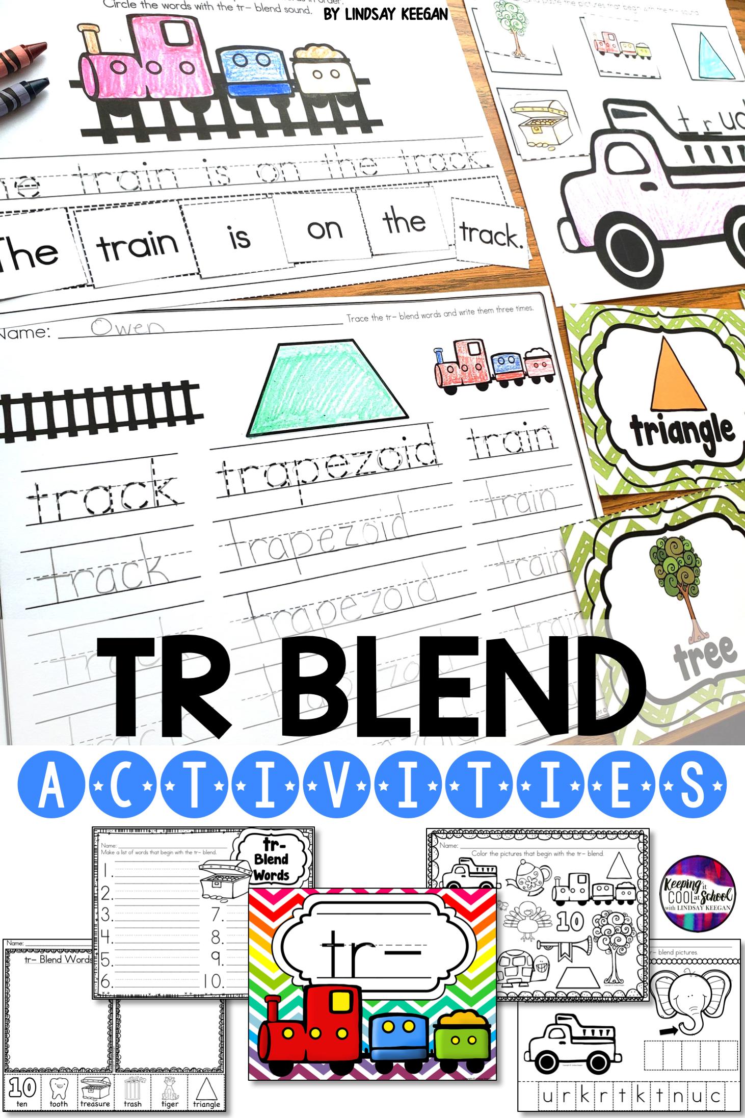 Tr Blend Worksheets