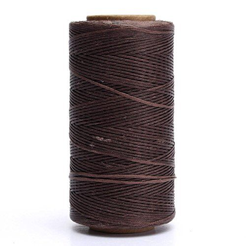 Kingso 284 Yards Leather Sewing Waxed Thread Diy Craft Light Brown You Can Get Additional Details At Diy Crafts Lights Sewing Leather Light Crafts