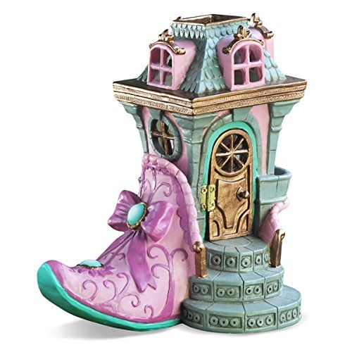 Georgetown Home And Garden Miniature Pink Slipper Chateau Fair House Garden  Decor U003eu003eu003e For