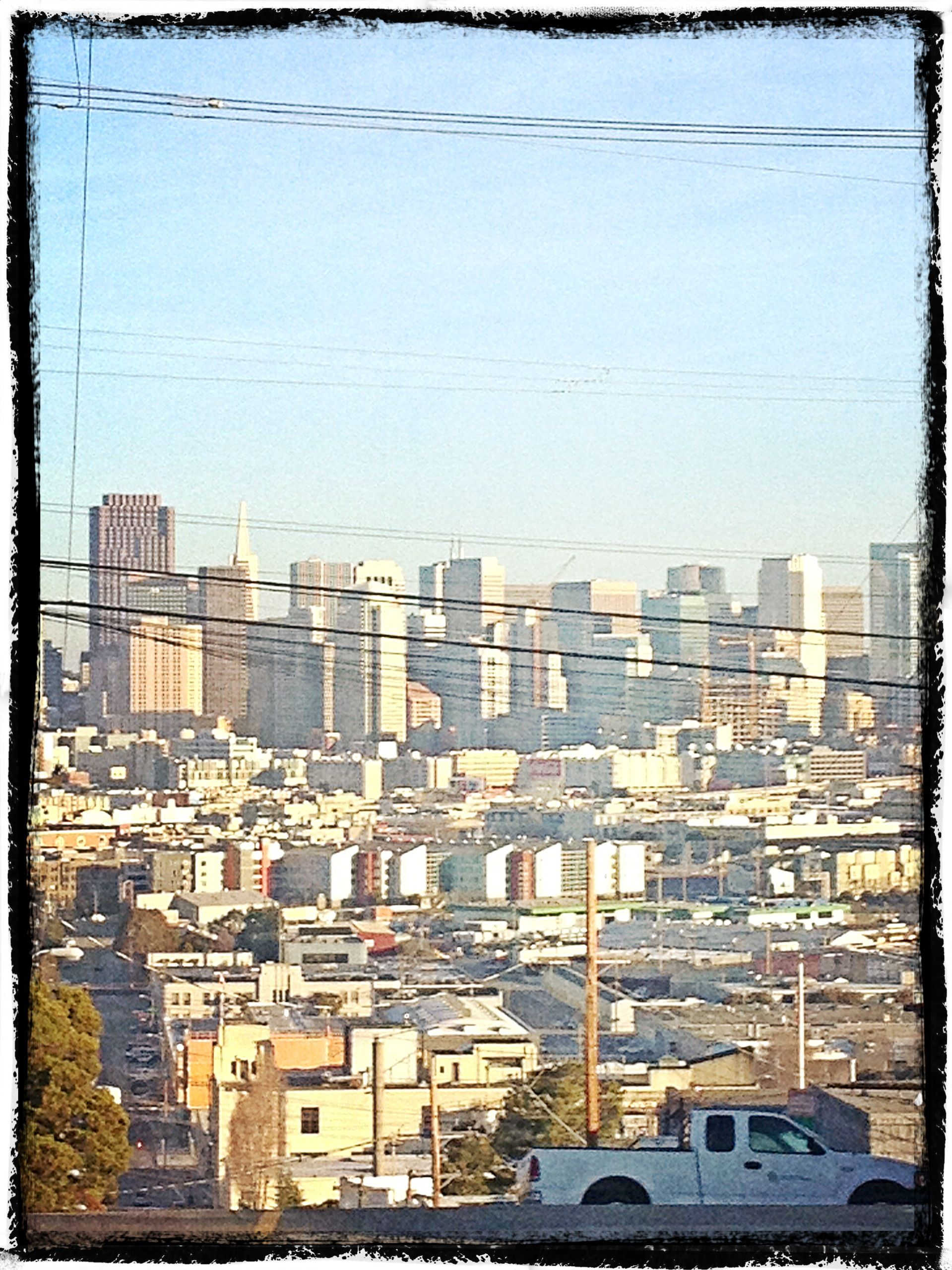 San Francisco on a beautiful day